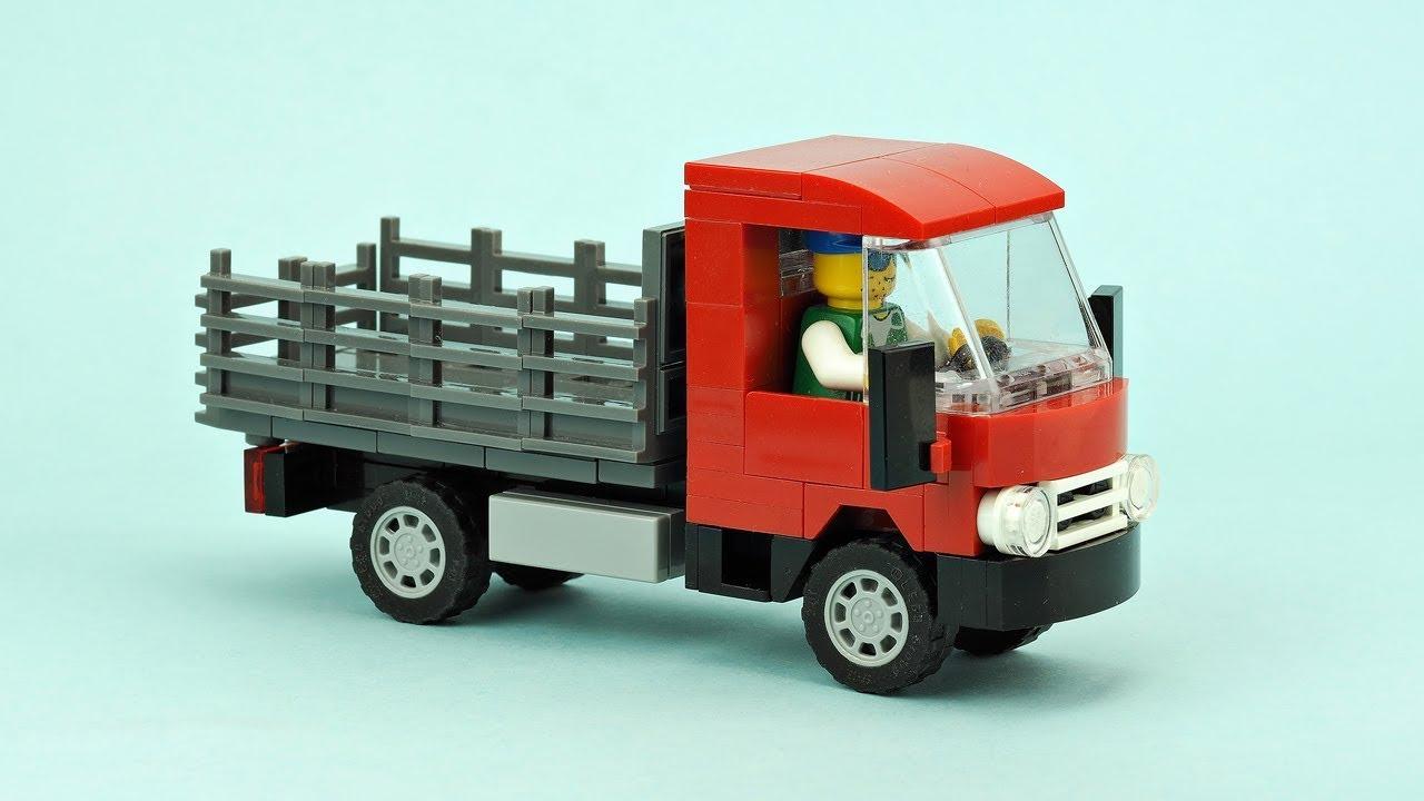LEGO MOC#37 Isuzu NPR Light Duty Truck Building PDF Instruction