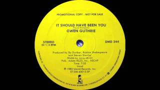 Gwen Guthrie - It Should Have Been You (Island Records 1982)