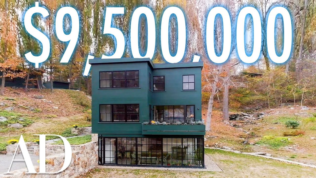 Inside a $9.5M Hudson River Home With A Lofted Greek Playhouse | On The Market