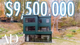 Inside a $9.5M Hudson River Home With A Lofted Playhouse | On The Market