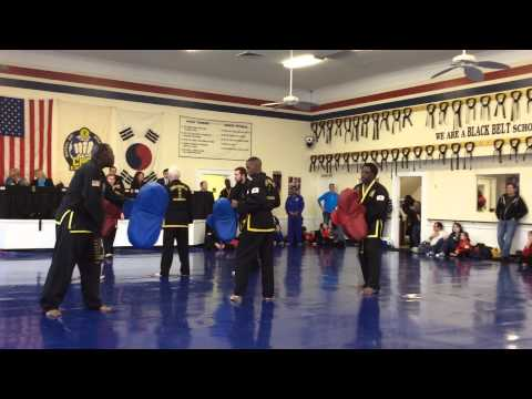 Third Degree Black belt Testing Epic Kick Fail