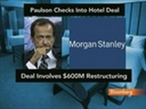 Paulson Group Said to Seize CNL From Morgan Stanley: Video