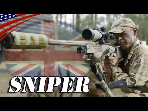 British Sniper : L115A3 (Arctic Warfare) Sniper Rifle & Ghillie Suit