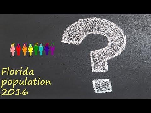Florida population 2016?
