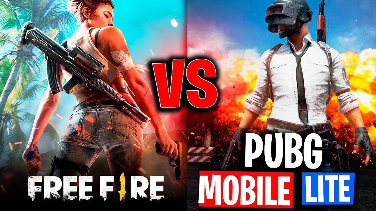 FREE FIRE VS PUBG MOBILE LITECUL Es El MEJOR BATTLE