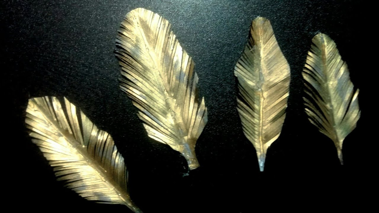 what is a feather made of