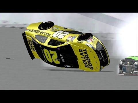 Nascar Racing 2003 Reenactment Compilation 1 (200th Video Special)