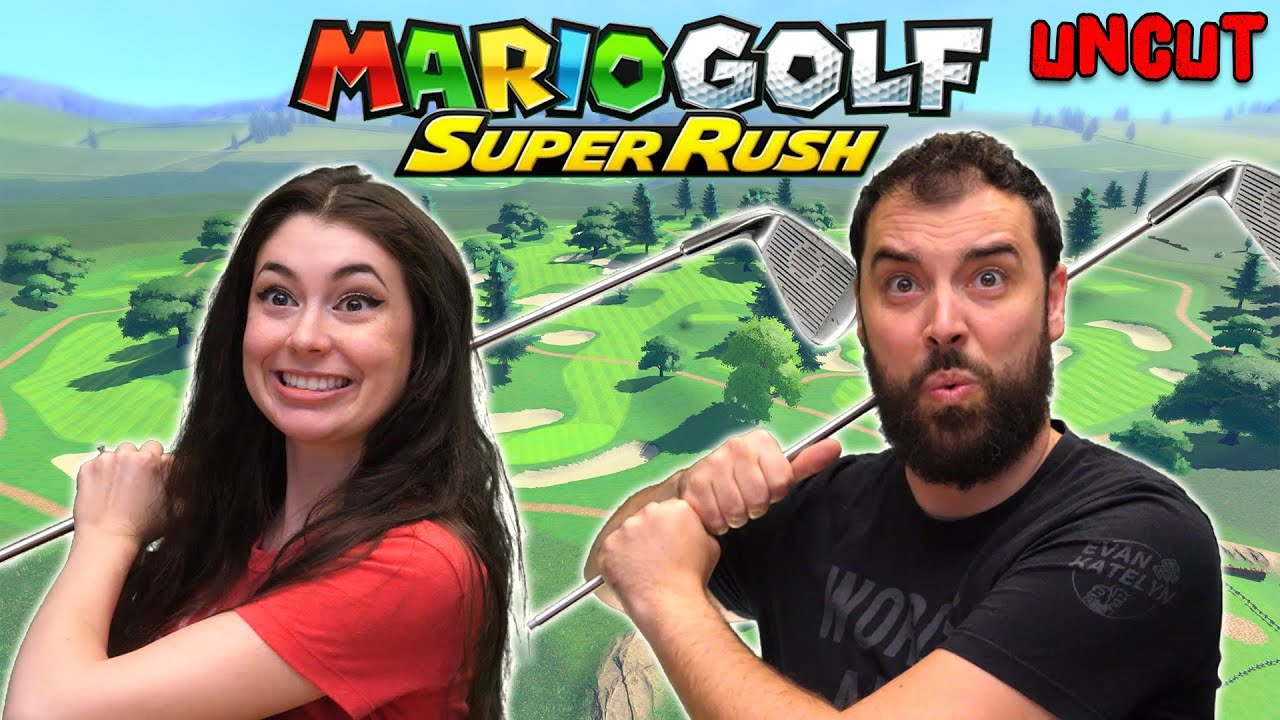Husband & Wife Try Mario Golf Super Rush for the First Time