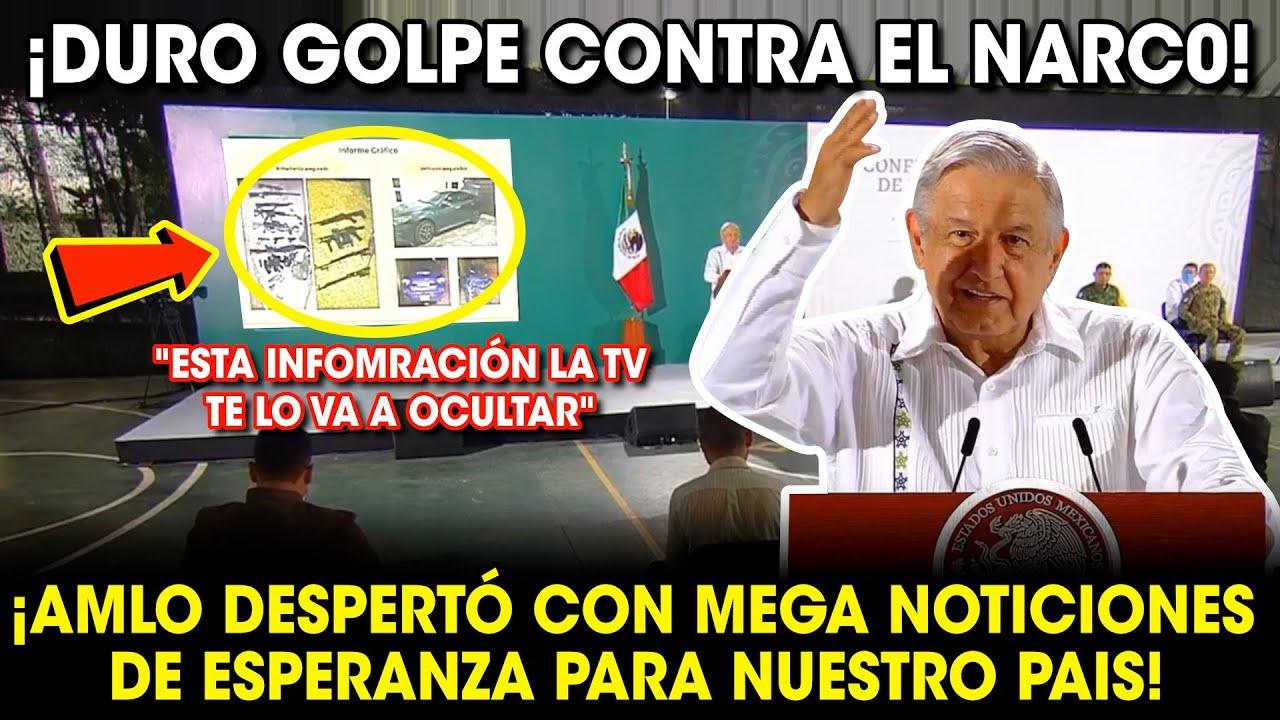 ¡ESTO ACABA DE PASAR! AMLO AMANECIÓ CON ESTE NOTIClON PARA TODO EL PUEBLO DE MÉXICO ¡NO LO IGNORES!