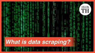 What is data scraping?