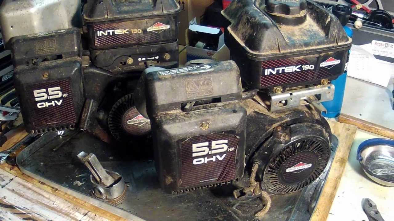 briggs and stratton ybsxs 7242vf 94 4l60e wiring diagram intek engines model number locations youtube
