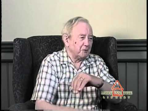 McCarthy World War II veteran U.S. Army Natick Veterans Oral History Project YouTube sharing
