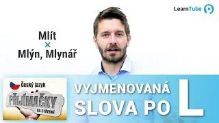 PŘIJÍMAČKY NA STŘEDNÍ (4LETÉ OBORY) - ČEŠTINA - LEKCE 3: Vyjm. slova po L - T. Ficza 💙 LearnTube.cz