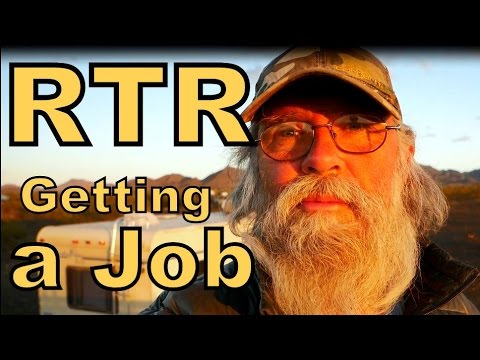Getting a Job at RTR