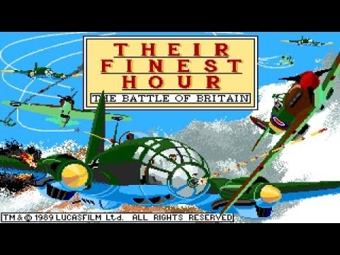 Their Finest Hour: The Battle of Britain gameplay (PC Game, 1989) thumbnail