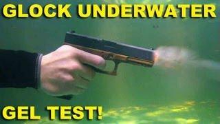 Glock Underwater Gel Test! Ballistics w/Maritime Spring Cups Evaluated