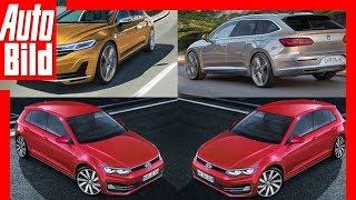 Zukunftsaussicht: VW Golf 8 / Passat - Details/Erklärung