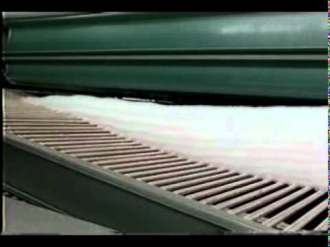 The Manufacturing Process For Non-Woven Fabrics Of Needle Punching 3 - YouTube