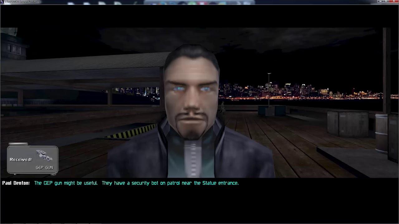 Deus Ex Comparison (GMDX v9)