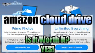 amazon cloud drive review setup demo