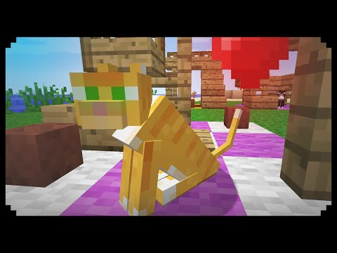 how to build a cat house in minecraft
