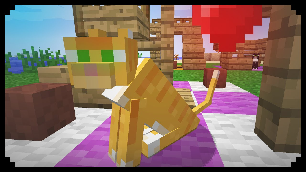 How To Make A Cat Tower In Minecraft