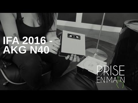 IFA 2016 - Unboxing Casque AKG N40