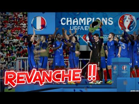 [HD] France vs Portugal REVANCHE !! Finale Euro 2016 10/07/2016 Fifa 16 FR