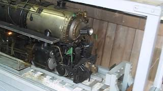 Bellevue, Railroad Museum: Operating model of NKP 4-6-4 No. 175.