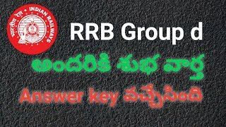 Rrb group d answer key details in telugu
