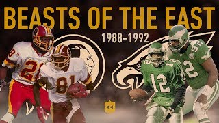 The Beasts of the East Legendary Rivalry! | NFL Vault Stories