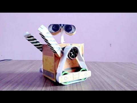 How To Make Wall Robot At Home Diy Live