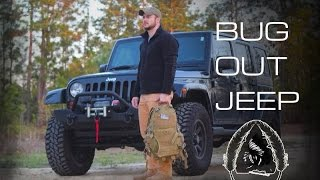 ULTIMATE BugOut Jeep- Black Scout Survival