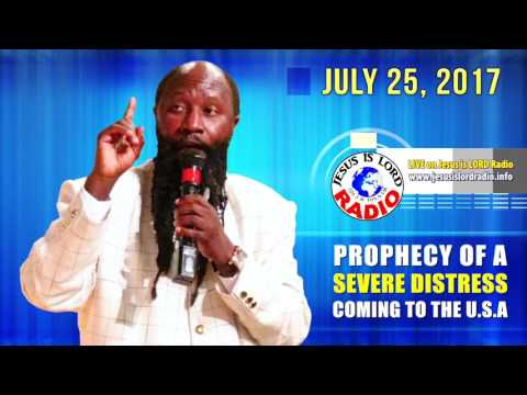 PROPHECY OF A SEVERE DISTRESS COMING TO THE U.S.A, PROPHET DR. OWUOR!