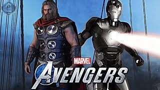 Marvel's Avengers Game - New Story Details, Alternate Costumes, Skill Trees and More!