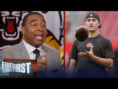 Cris Carter on how Johnny Manziel's CFL signing could get him back in NFL | NFL | FIRST THINGS FIRST