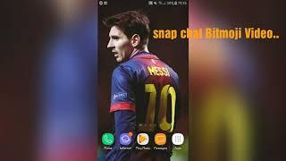 How to get 3D Bitmoji video On snapchat Urdu/hindi | snapchat bitmoji video tutorial.