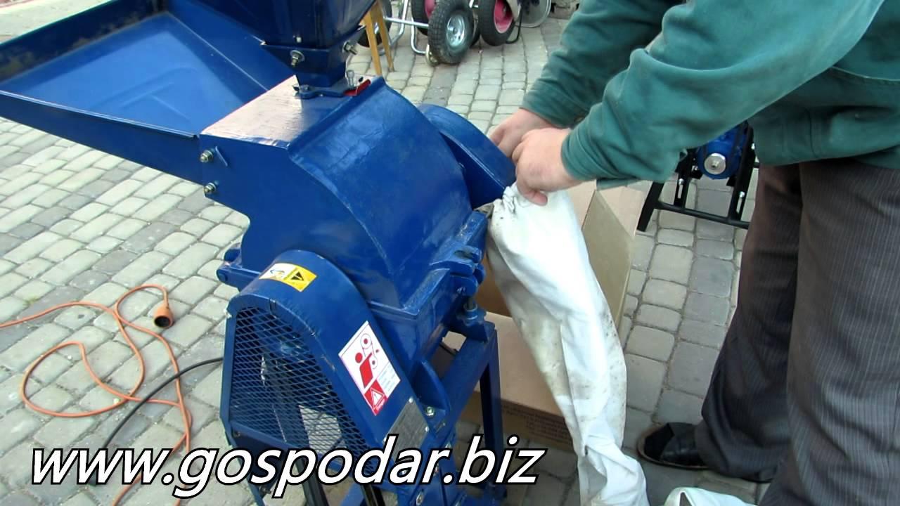 Кормоизмельчитель ЗУБР против зернодробилки из пылесоса от канала .