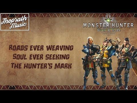 Monster Hunter: World Inspired Song/Soundtrack | Erutan - The Hunter's Mark (Lyrics)