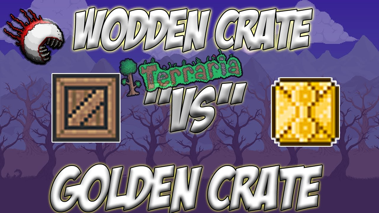 Terraria This Is Why Wooden Crate Is Better Than Golden Crate Watch To Find Out