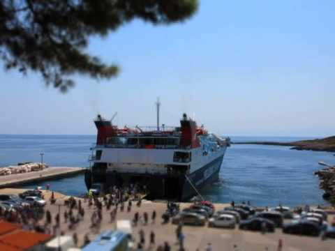 Ships at Northern Sporades, Greece