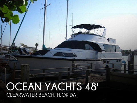 [UNAVAILABLE] Used 1990 Ocean 48 Motor Yacht in Clearwater B
