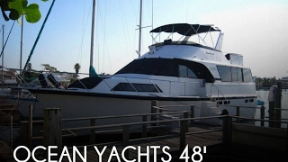 Used 1990 Ocean Yachts 48 Motor Yacht for sale in Clearwater Beach, Florida