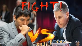 Michael Adams is Shock and Resigned in An Equal  Queen & Minor Piece End Game ~ Cunning Wesley So