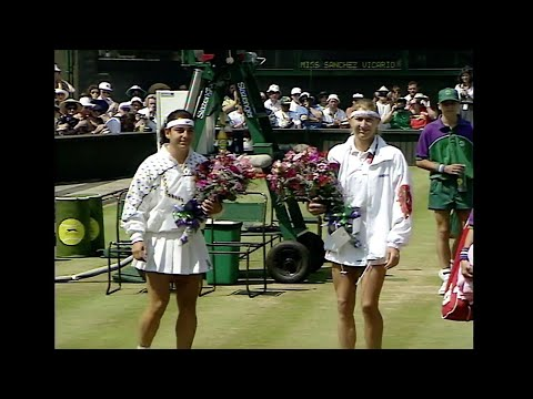 Classic Match - Steffi Graf Vs Arantxa Sánchez Vicario 1995 Wimbledon Final - Highlights HD
