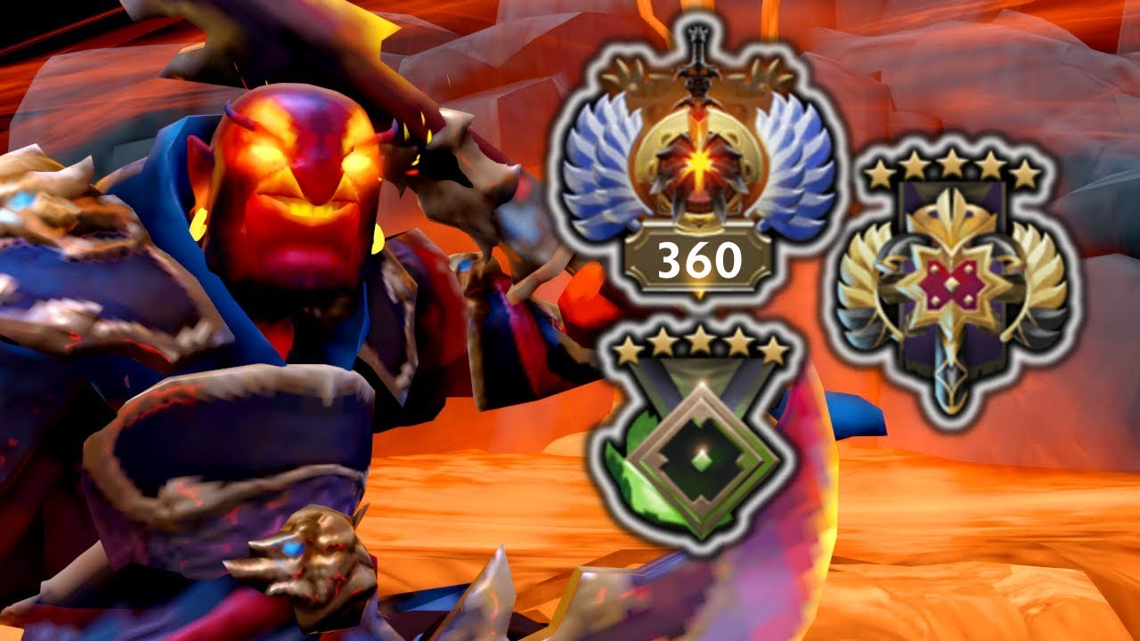 Skill Level of Ember Spirit at 3 Different Ranks – Replay Analysis