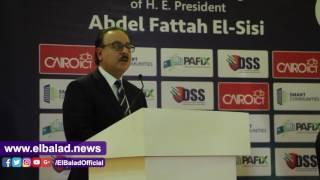 القاضي في ختام «cairo ICT» : قطاع الاتصالات يدير دفة الاقتصاد القومي .. فيديو