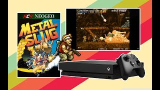Metal Slug Complete Playthrough - ACA NEOGEO - Xbox One X