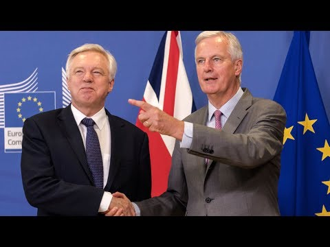 Brexit talks resume in Brussels: David Davis and Michel Barnier speak