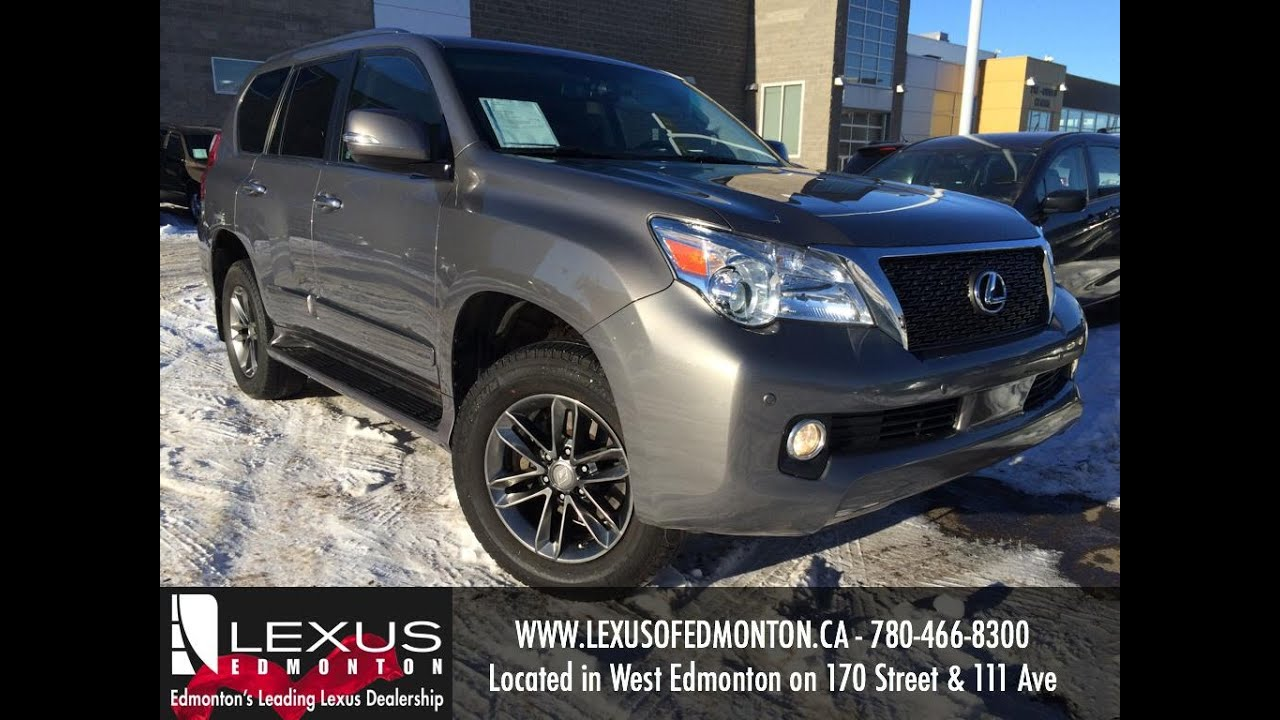 lexus certified pre owned grey 2013 gx 460 4wd sportpackage review beaumont alberta youtube. Black Bedroom Furniture Sets. Home Design Ideas